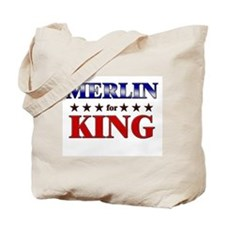 MERLIN for king Tote Bag