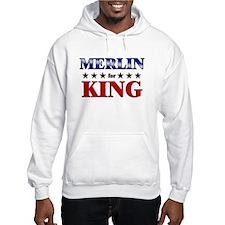 MERLIN for king Hoodie