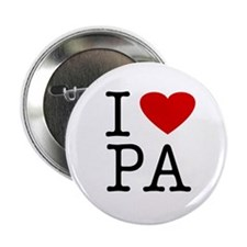 I Love Pennsylvania (PA) Button
