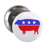 Fibertarian (tm) Party Button