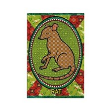 Year of the Rat 2 Rectangle Magnet