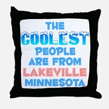 Coolest: Lakeville, MN Throw Pillow