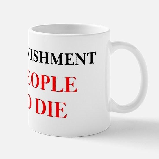 CapitalPunishment Mug