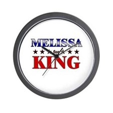 MELISSA for king Wall Clock