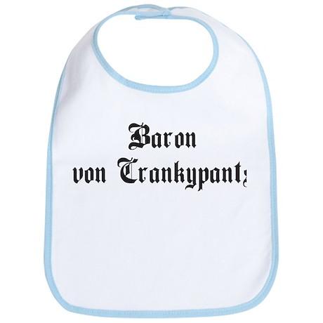 Baron von Crankypants Bib