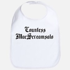 Countess MacScreamsalot Bib