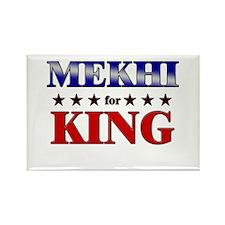 MEKHI for king Rectangle Magnet