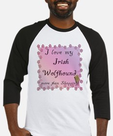 Wolfhound Shopping Baseball Jersey