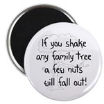 Shaking Family Tree (Black) Magnet