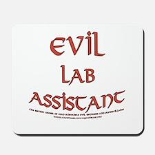 Evil Lab Assistant Mousepad