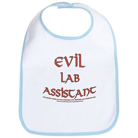 Evil Lab Assistant Bib