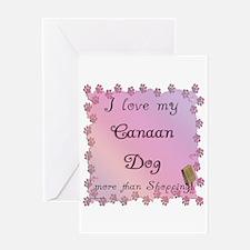 Canaan Shopping Greeting Card