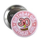 30th birthday Buttons