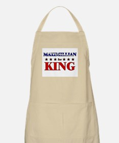 MAXIMILLIAN for king BBQ Apron