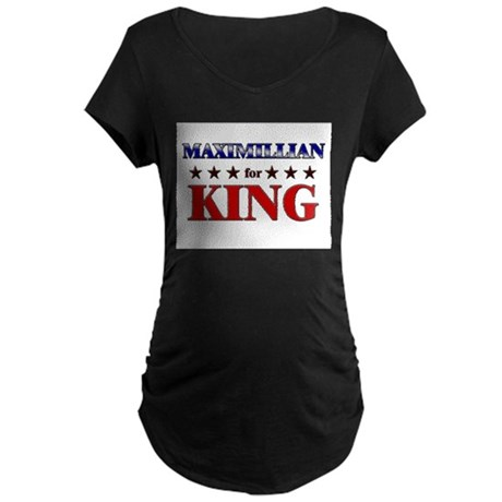MAXIMILLIAN for king Maternity Dark T-Shirt