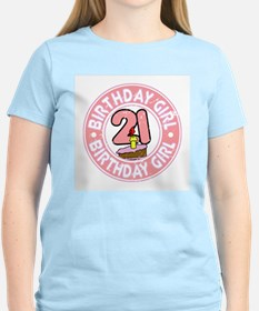 Birthday Girl #21 T-Shirt