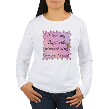 Catahoula Shopping Women's Long Sleeve T-Shirt