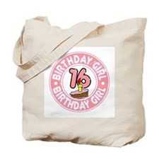 Birthday Girl #16 Tote Bag