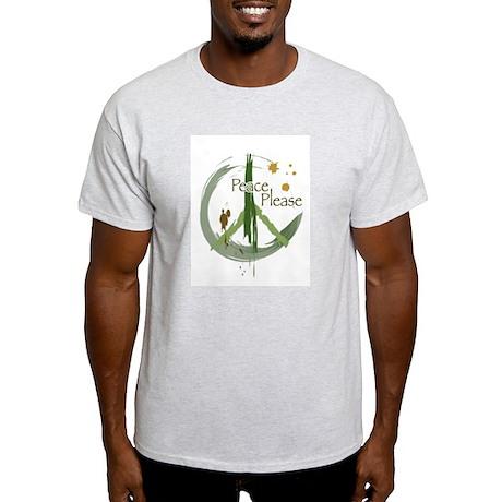 Peace Please Light T-Shirt