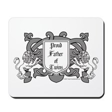 Father of Twins - Mousepad