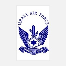Israel Air Force Blue Rectangle Decal