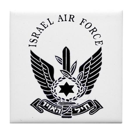 Israel Air Force Black Tile Coaster