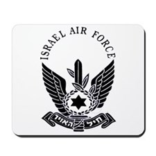 Israel Air Force Black Mousepad