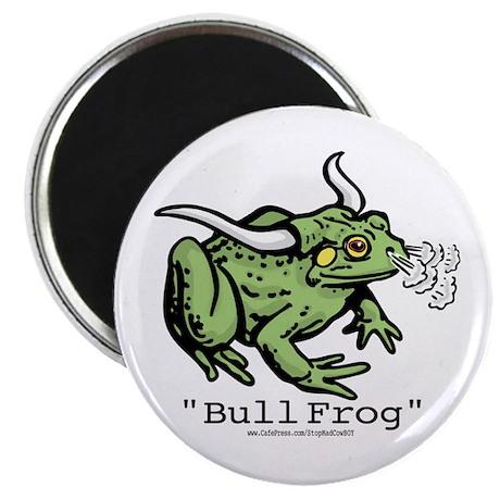 """Funny """"Bull"""" Frog Magnet"""