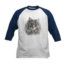 TG, Long-Haired Gray Cat Tee