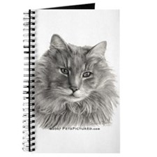 TG, Long-Haired Gray Cat Journal