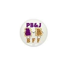 Funny Forever friend Mini Button (100 pack)