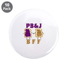 "Unique Pbs 3.5"" Button (10 pack)"