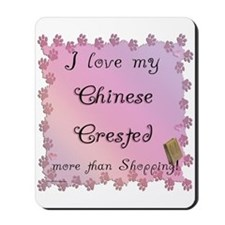 Crested Shopping Mousepad