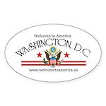 Washington, DC Oval Sticker