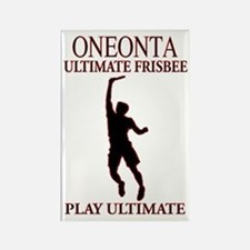 Oneonta Ultimate Frisbee Rectangle Magnet