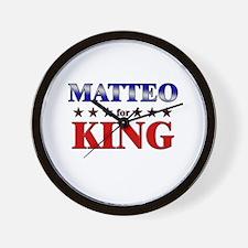 MATTEO for king Wall Clock