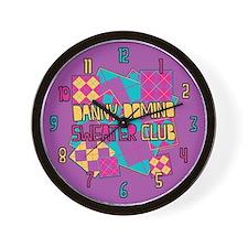 Danny Domino Sweater Club Wall Clock