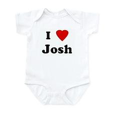 I Love Josh Infant Bodysuit
