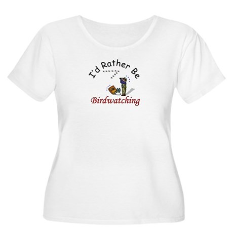 Birdwatching Women's Plus Size Scoop Neck T-Shirt