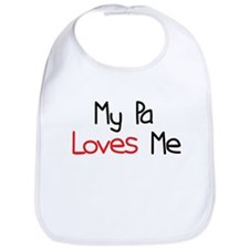 My Pa Loves Me Bib