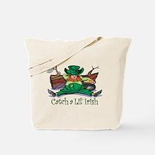 Catch an Irish Leprechaun Tote Bag
