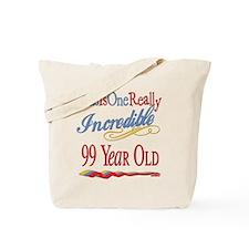 Incredible At 99 Tote Bag
