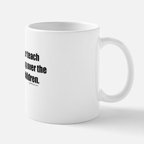 Women Won't Reach Equality Mug