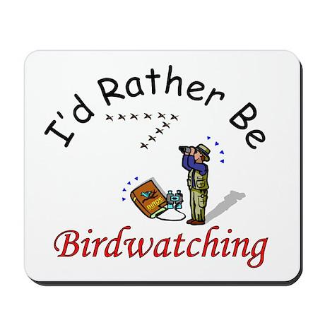 Birdwatching Mousepad