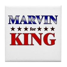 MARVIN for king Tile Coaster