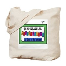 Retro TV Tote Bag