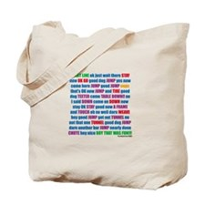 Agility Run Play by Play Tote Bag