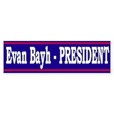 Evan Bayh <BR>Bumper Bumper Sticker