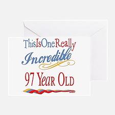 Incredible At 97 Greeting Card