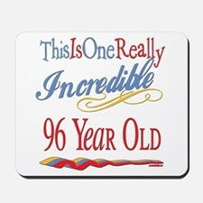Incredible At 96 Mousepad